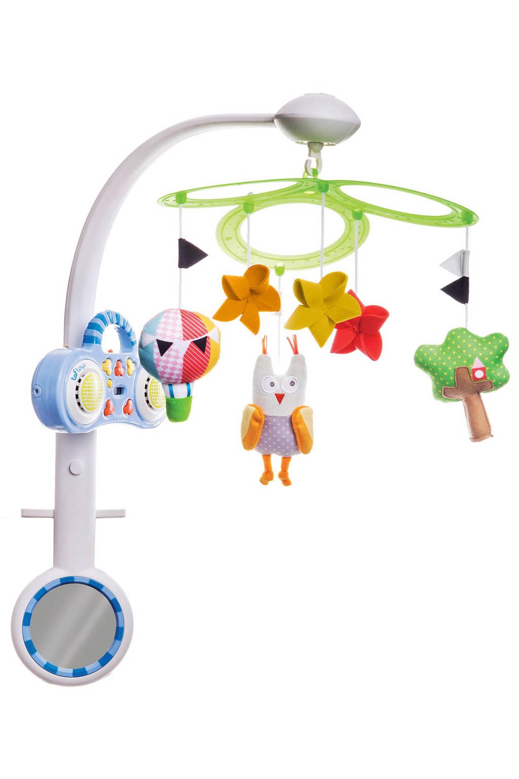 Taf Toys MP3 stereo muziek mobiel uil met licht en geluid