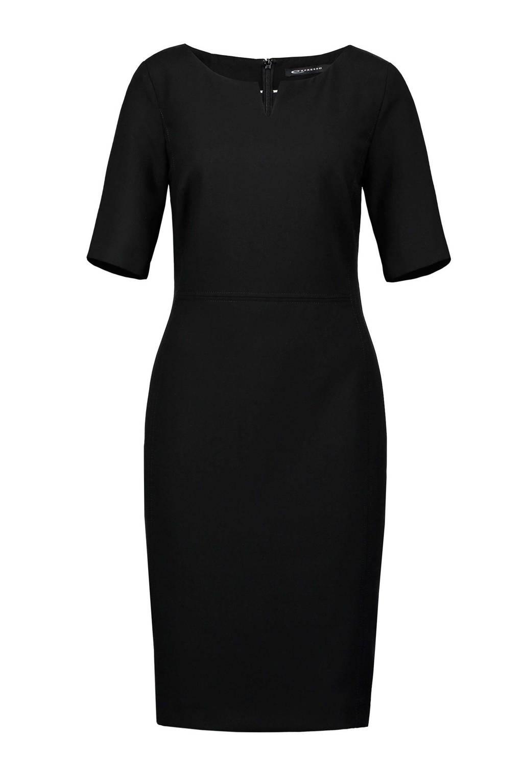 Expresso Xantippe jurk, Zwart
