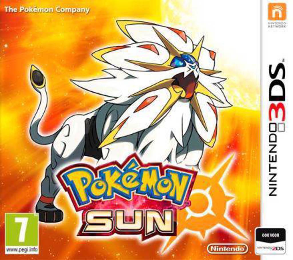 Pokemon - Sun (Nintendo 3DS)