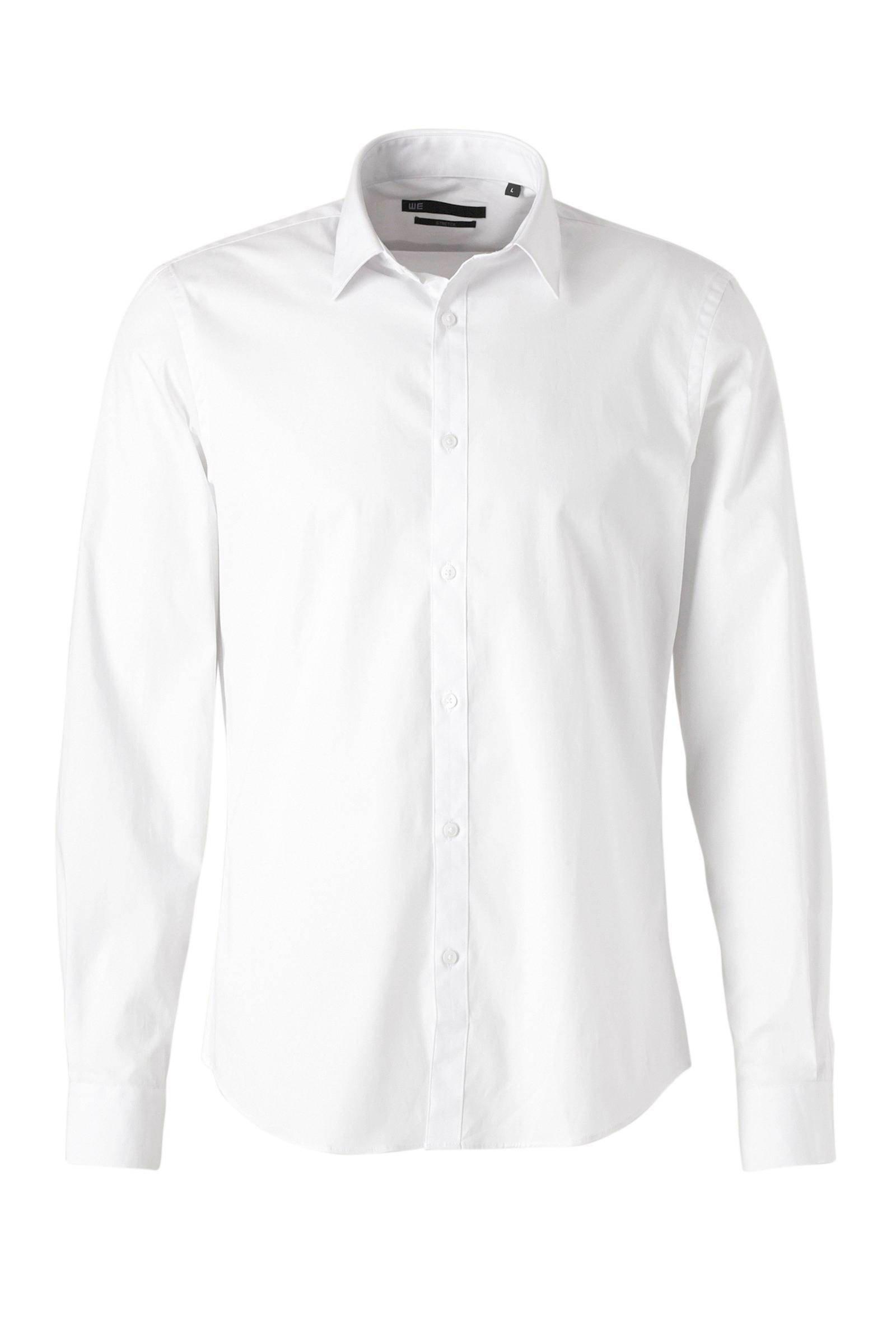 We Overhemd Heren.Slim Fit Overhemd