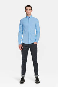 WE Fashion slim fit overhemd, Air