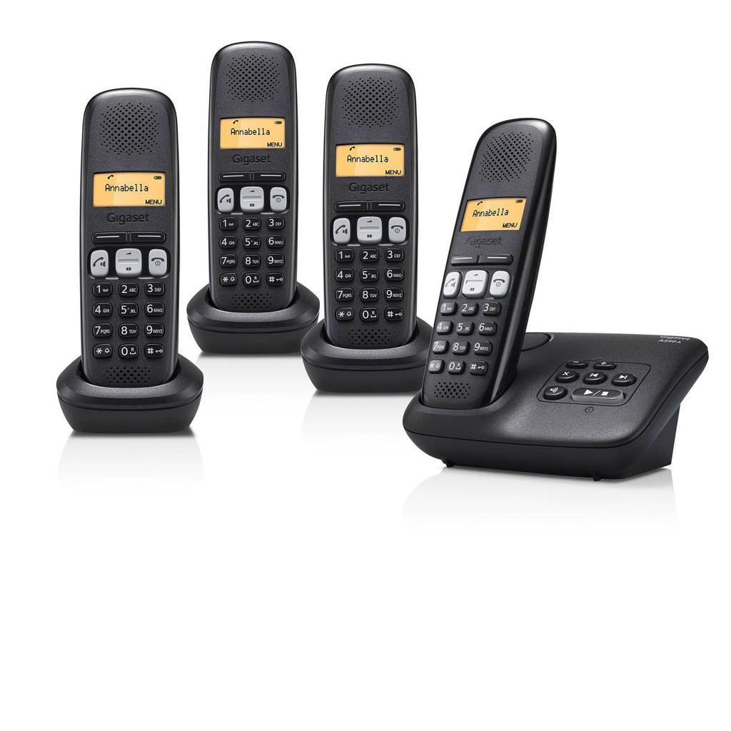 Gigaset A250A Quattro huisTelefoon, Ja