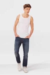 WE Fashion Fundamental hemd, White Uni