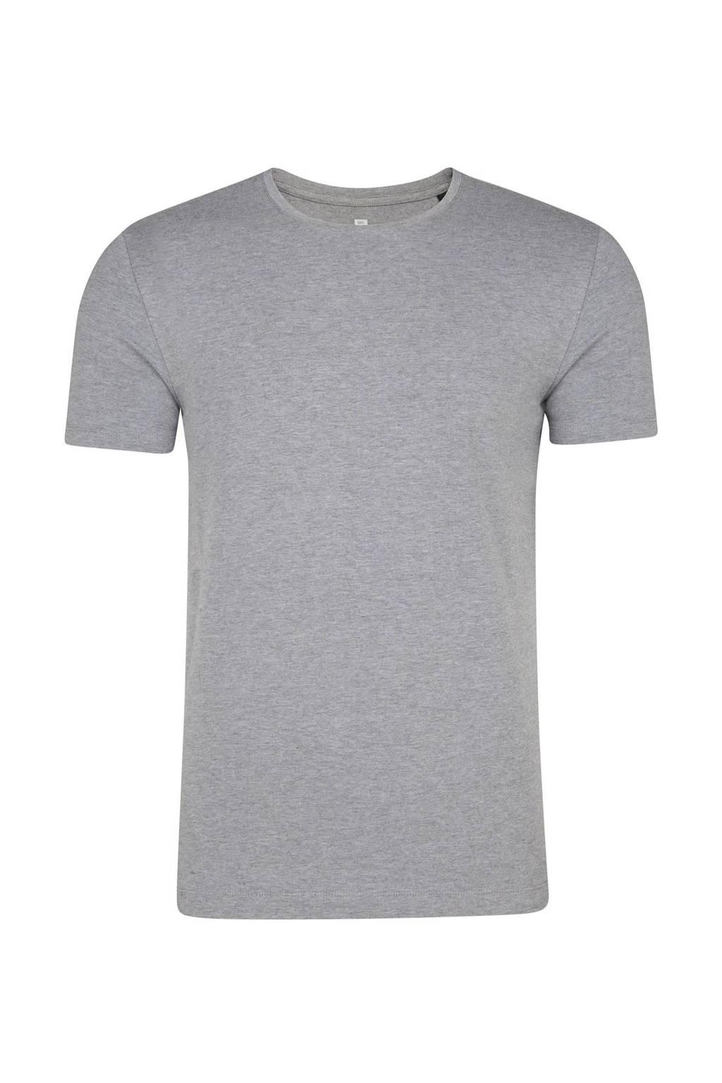 WE Fashion T-shirt, Light Grey Melange