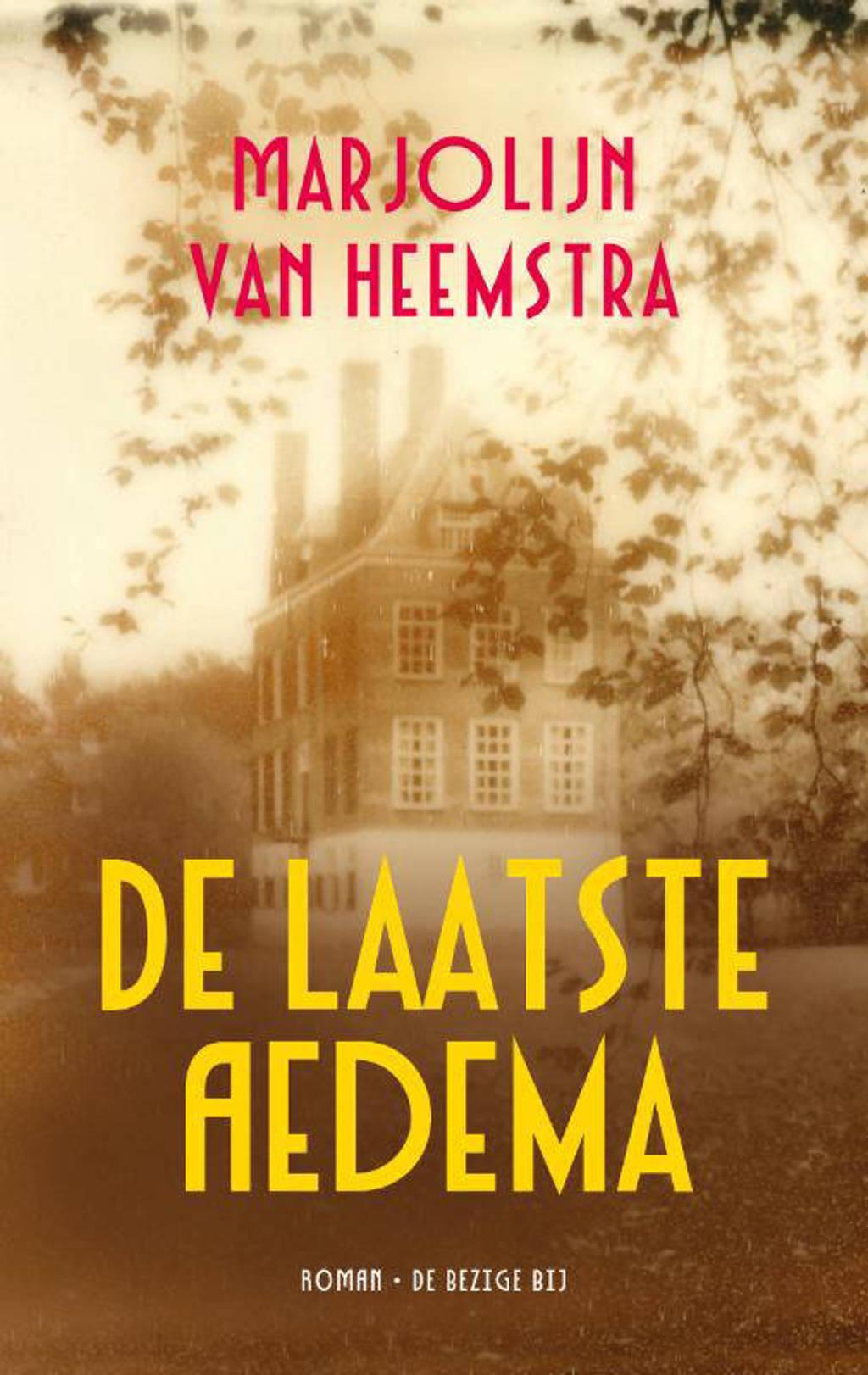 De laatste Aedema - Marjolein van Heemstra