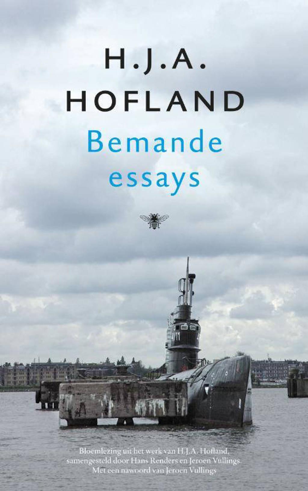 Bemande essays - H.J.A. Hofland