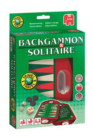 Backgammon en Solitaire  reisspel