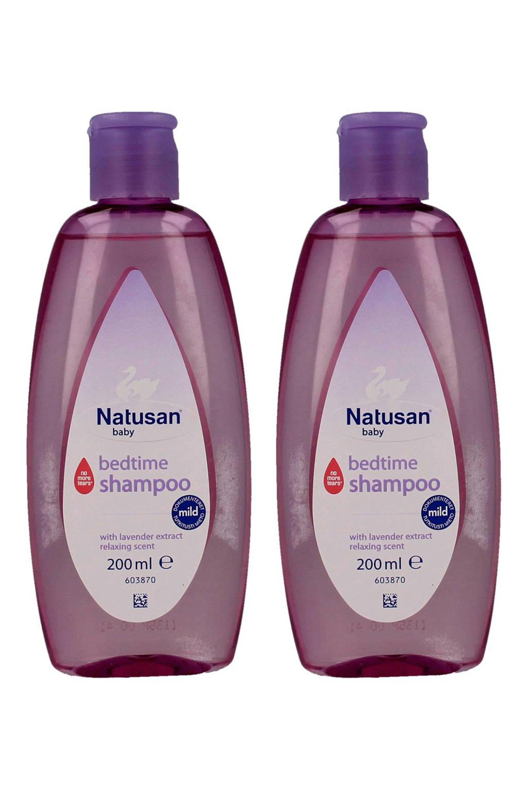 Natusan Baby Bedtime shampoo - 2 x 200 ml