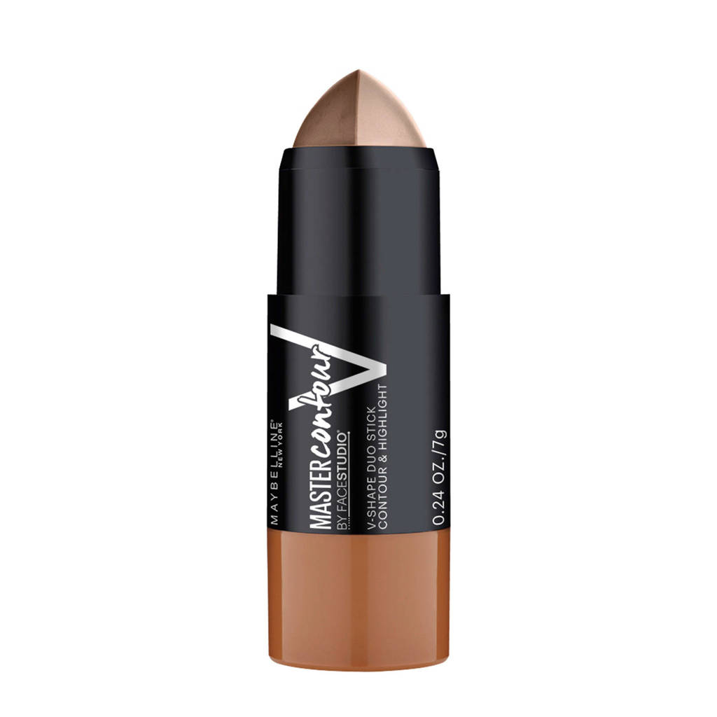 Maybelline New York Master Contour V-shape duo stick - Contour & Highlight  - 01 Light