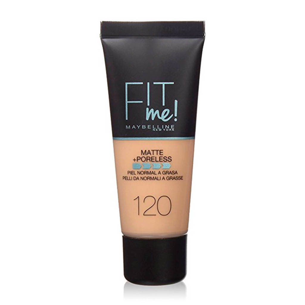 Maybelline New York Fit Me! Matte + Poreless liquid foundation - 120 Classic Ivory