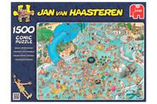 Jan van Haasteren Tropisch zwemparadijs  legpuzzel 1500 stukjes