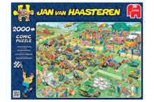 Jan van Haasteren Grasmaaierrace  legpuzzel 2000 stukjes