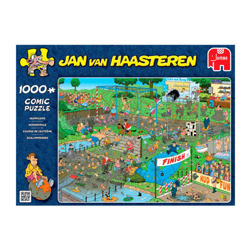 Jumbo Jan van Haasteren Modderrace legpuzzel 1000 stukjes kopen