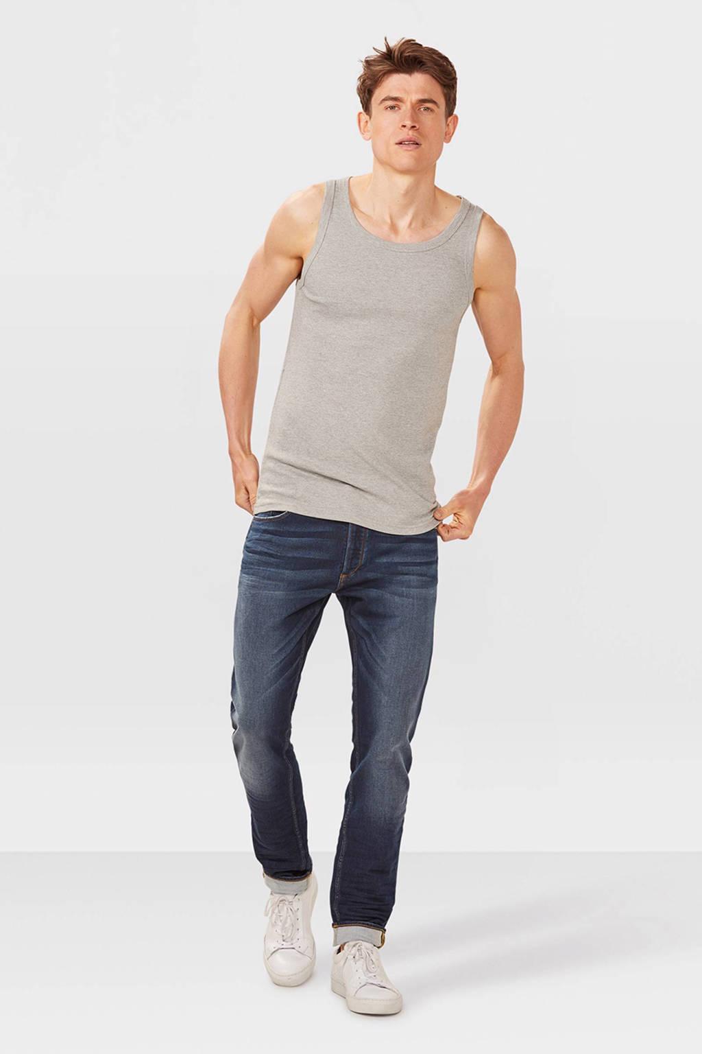 WE Fashion singlet, grey melange