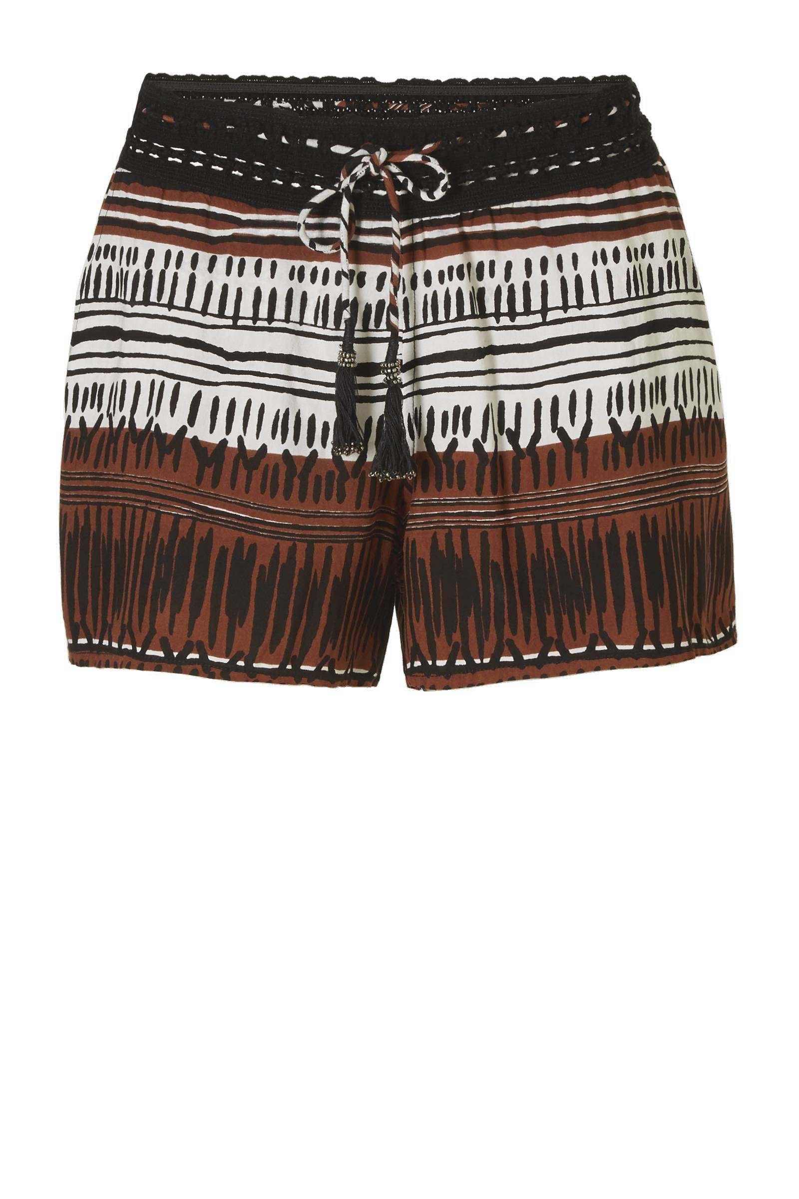 whkmp's beachwave short met all over print (dames)
