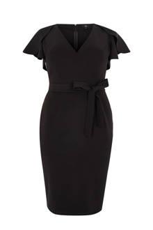 Plus getailleerde jurk