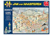 Jan van Haasteren Nieuwjaarsduik  legpuzzel 2000 stukjes