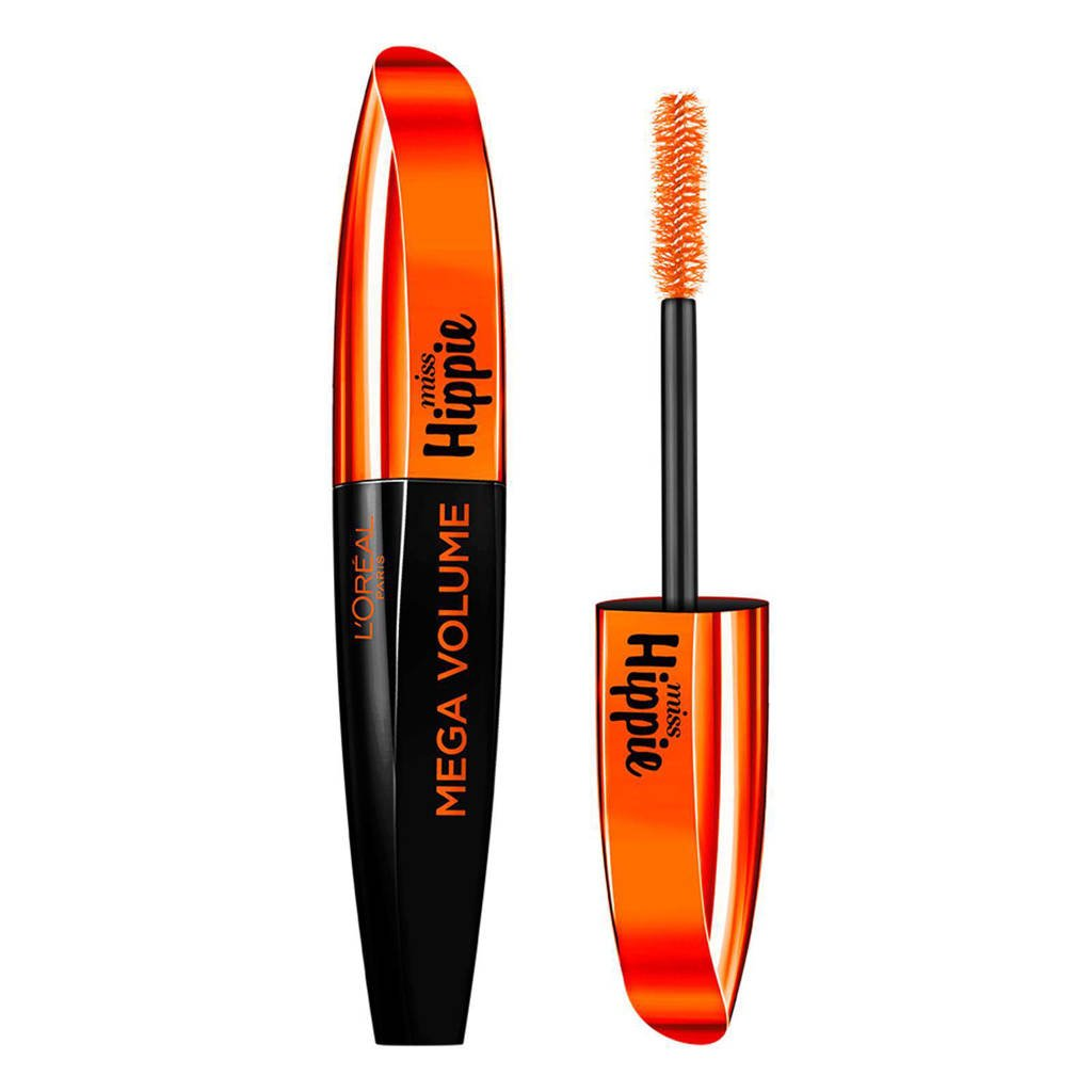 L'Oréal Paris Mega Volume Miss Hippie mascara - Zwart