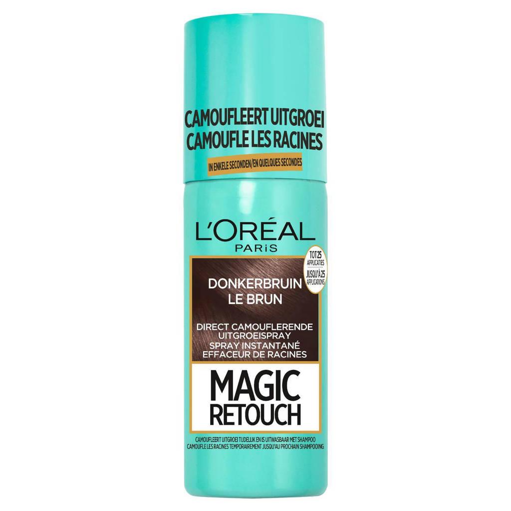 L'Oréal Paris Coloration Magic Retouch uitgroei camoufleerspray - Donkerbruin