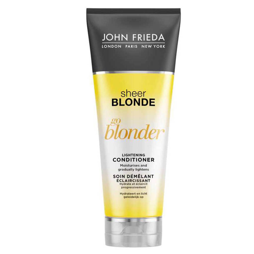 John Frieda Sheer Blonde Conditioner Go Blonder