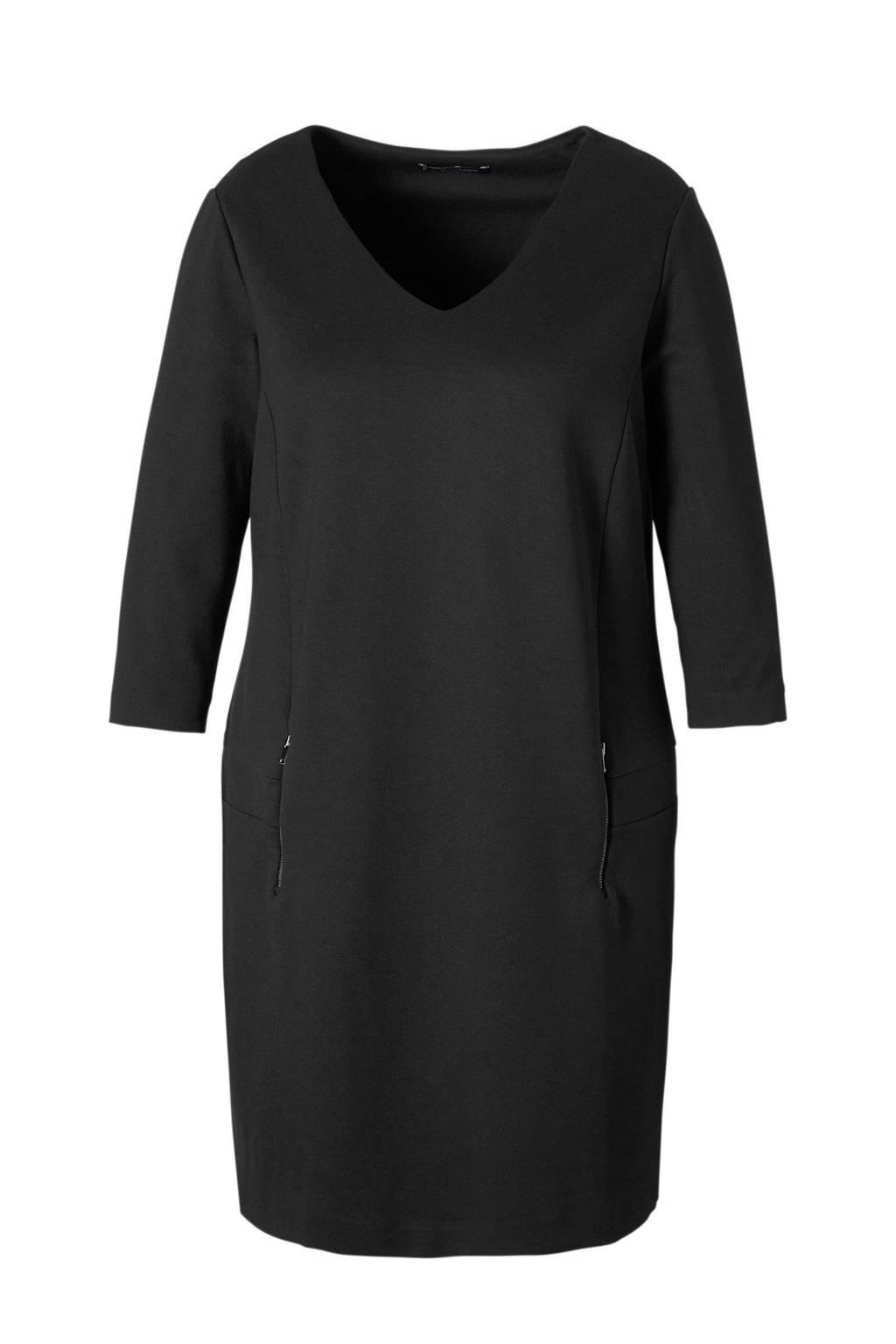 Violeta by Mango jurk, Zwart