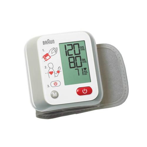 Braun Bloeddrukmeter Voor De Pols BBP2000WE Stuk