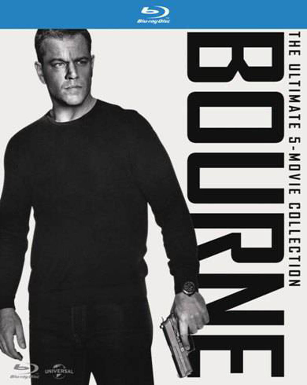 Bourne - The Ultimate 5 Movie Collection (Blu-ray)