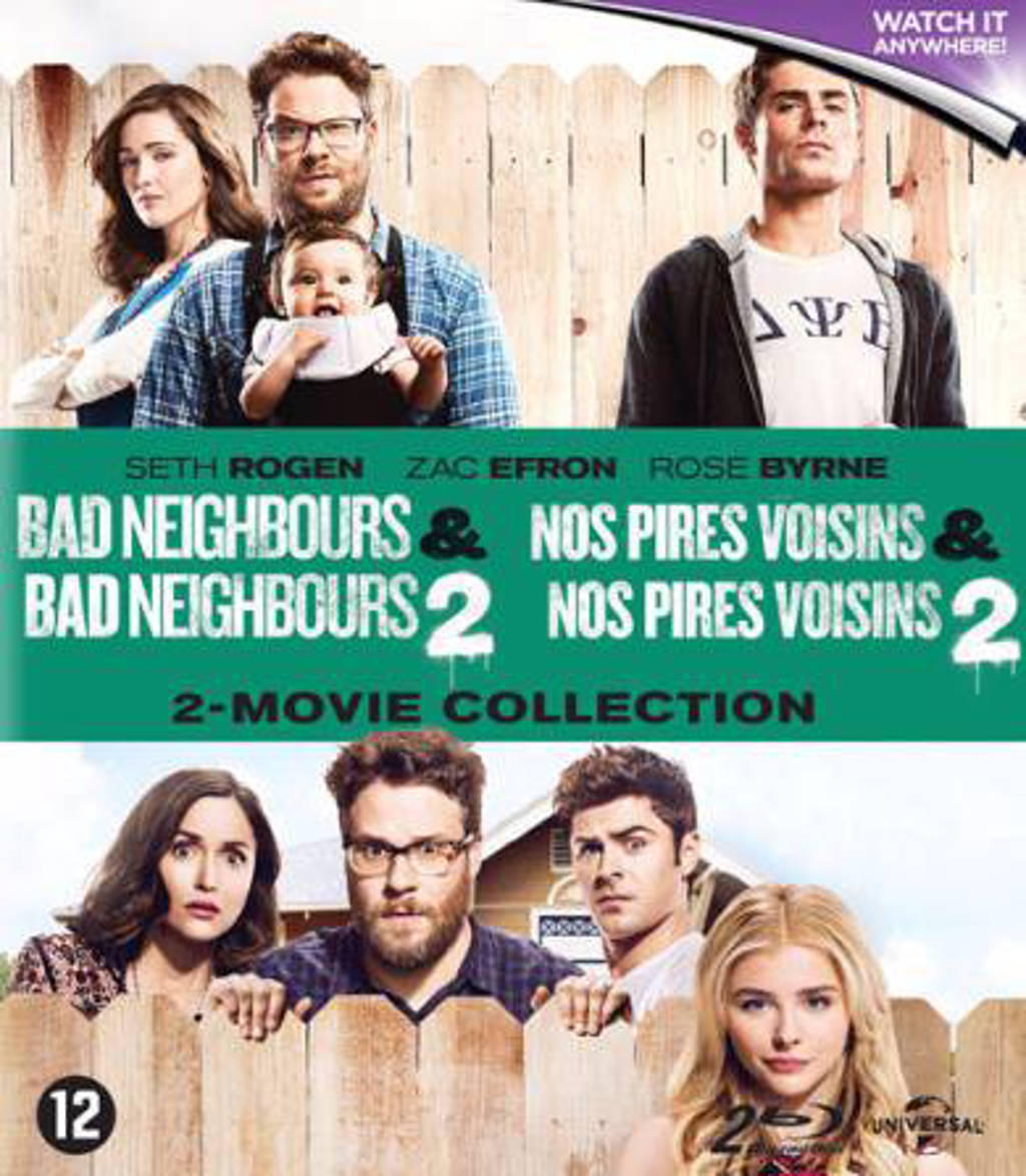 Bad neighbours 1 & 2  (Blu-ray)