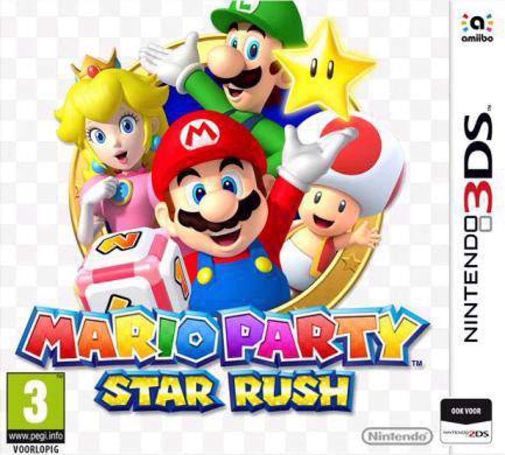 Mario party - Star rush (Nintendo 3DS)