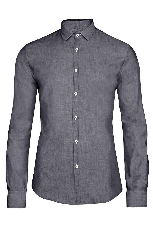 Donkergrijs Overhemd.We Fashion Overhemd Wehkamp