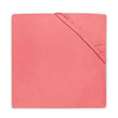 hoeslaken 40x80cm coral pink