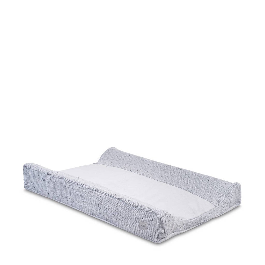 Jollein Confetti Knit aankleedkussenhoes 50x70 cm grey, Grey