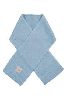 soft knit sjaal soft blue