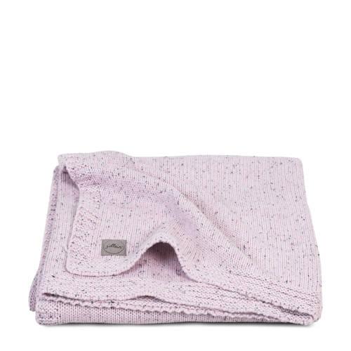 wiegdeken 75x100cm Confetti Knit vintage pink