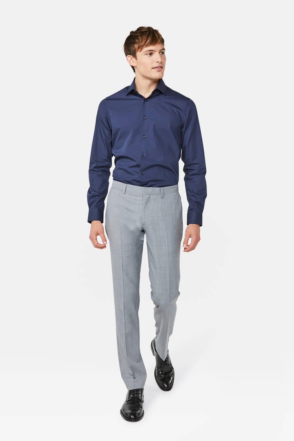 WE Fashion overhemd, Donkerblauw