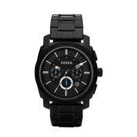 Fossil horloge Machine FS4552 zwart, Zwart