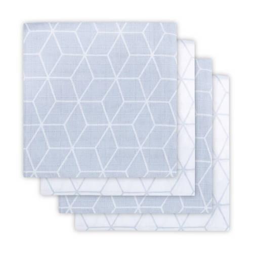 hydrofiele luier Graphic 4-pack grey