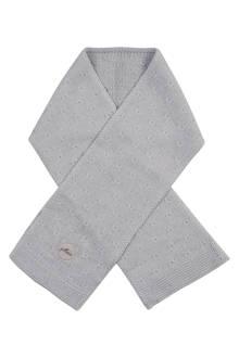 soft knit sjaal light grey