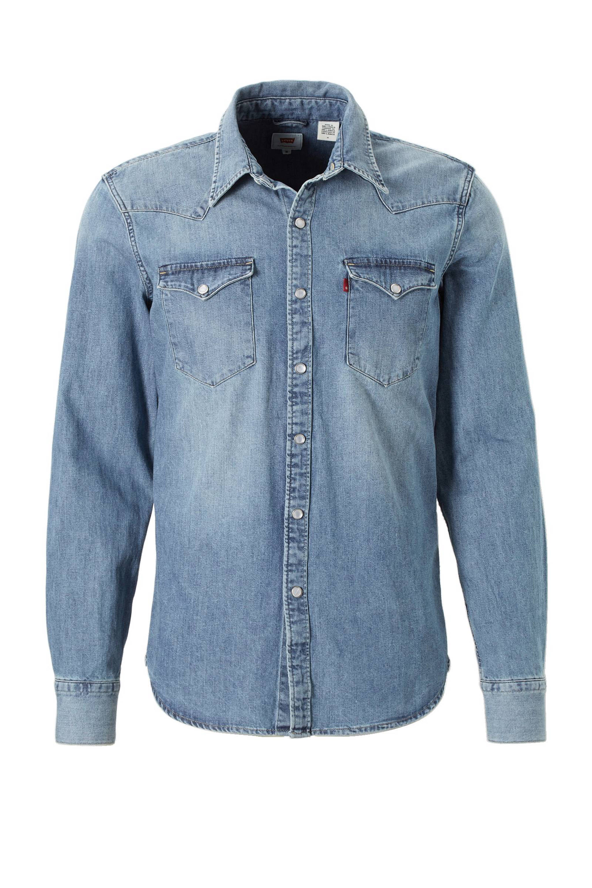 Denim Overhemd Heren.Levi S Denim Overhemd Wehkamp