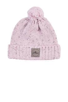 confetti knit mutsje 2-9 mnd vintage pink