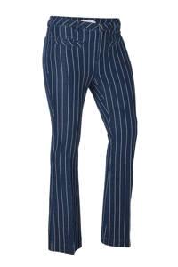 whkmp's great looks flared jeans, Dark blue pinstripe