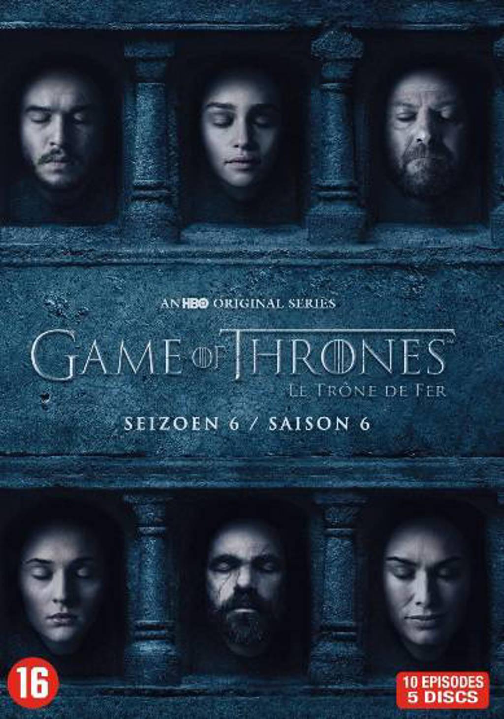 Game of thrones - Seizoen 6 (DVD)