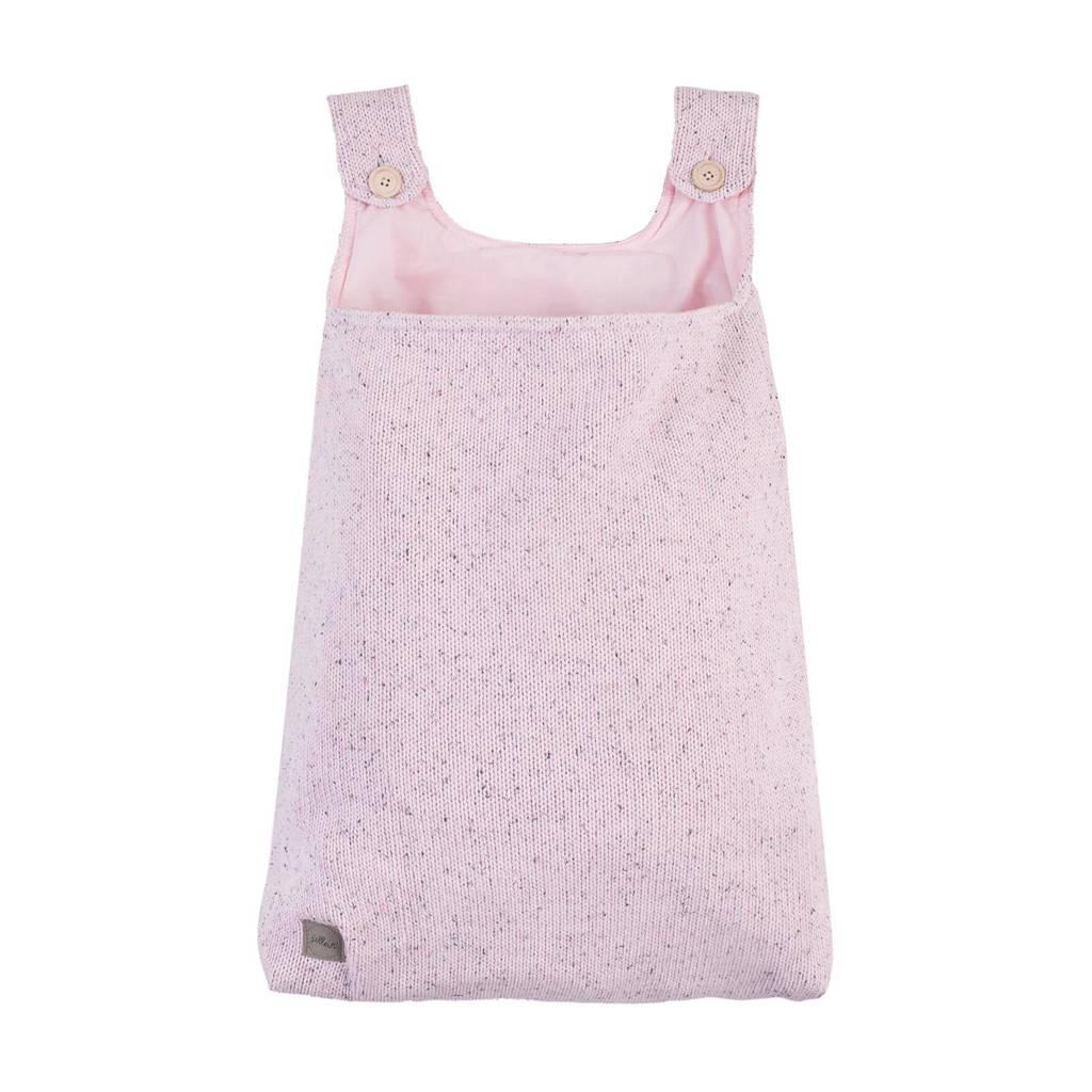 Jollein boxopbergzak Confetti Knit vintage pink, Vintage Pink