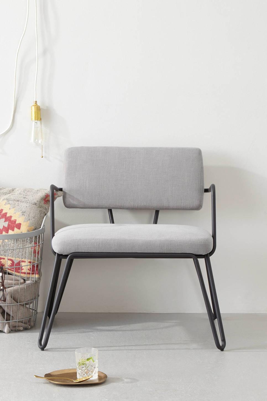 whkmp's own fauteuil Anna, Grijs