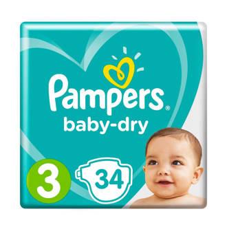 Baby-Dry maat 3 (6-10 kg) 34 luiers