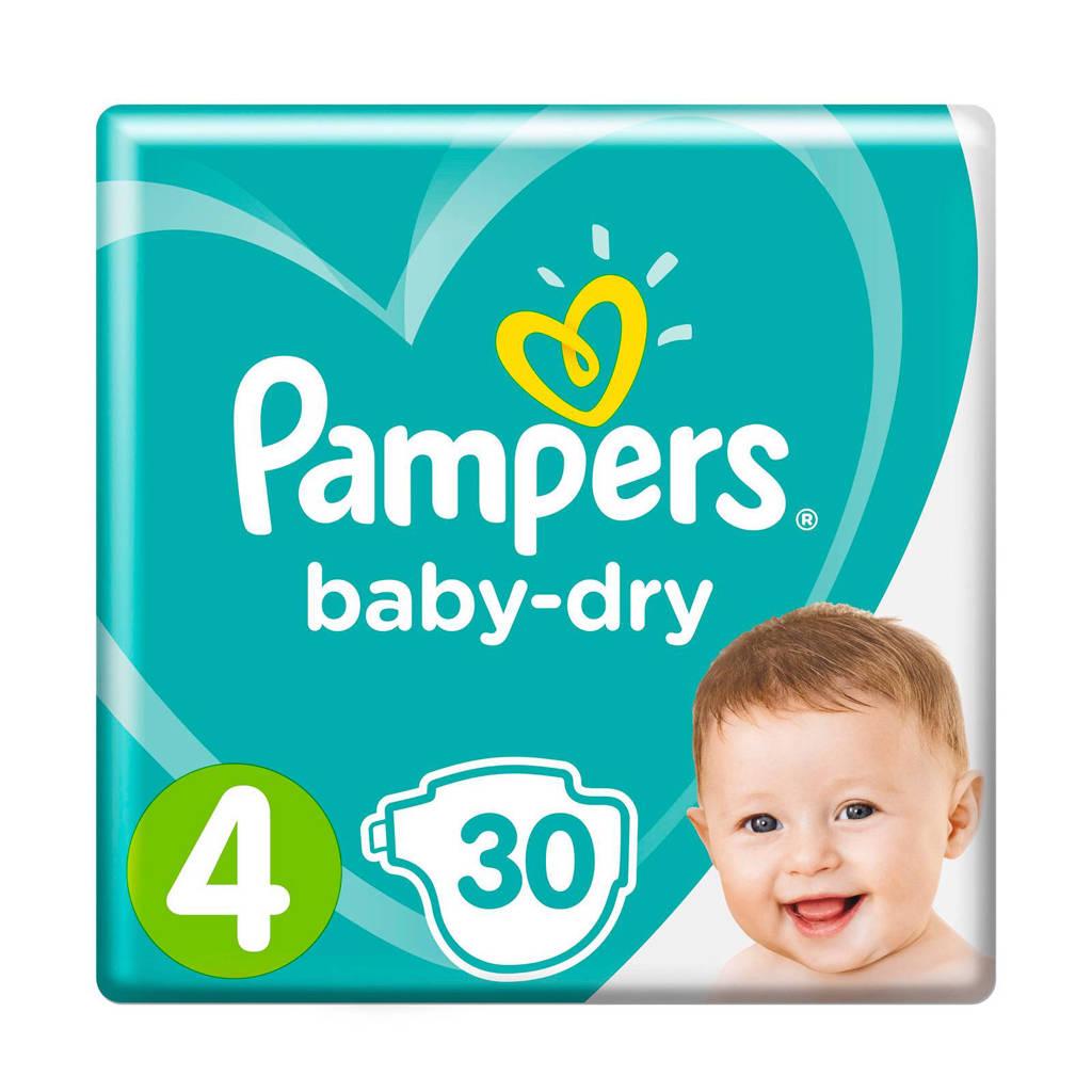 Pampers Baby-Dry maat 4 (9-14 kg) 30 luiers