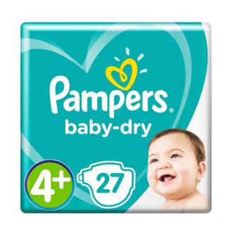 Baby-Dry maat 4+ (10-15 kg) 27 luiers