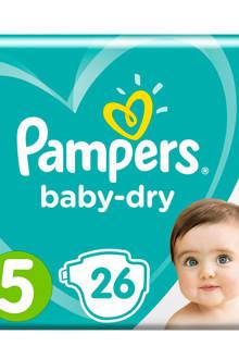 Baby-Dry maat 5 (11-16 kg) 26 luiers