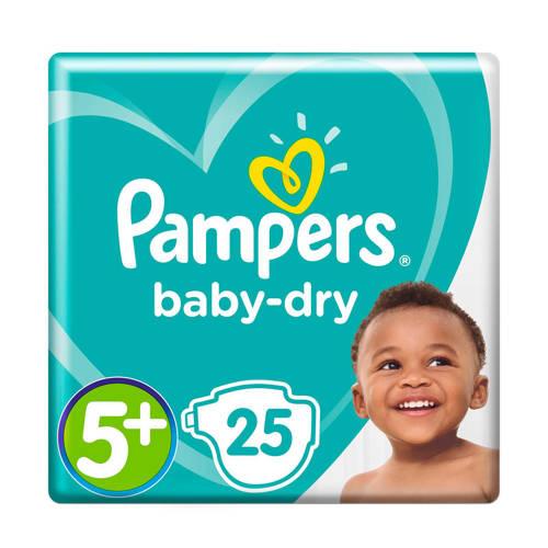 Pampers Baby Dry Midpack Maat 5+ (Junior+) 13-25 kg 25 luiers