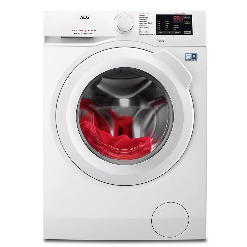 AEG L6FB86IW wasmachine, 1600